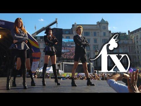 150809 f(x) @ London Korean Festival ALL 4 SONGS [HD]