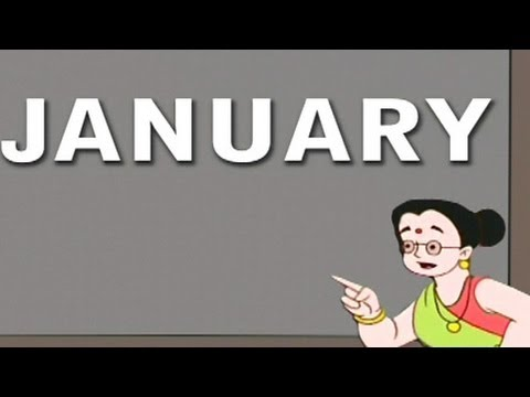 Play & Learn 'Months Of The Year' - Animated Series