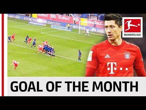 Top 10 Goals November - Vote For The Goal Of The Month
