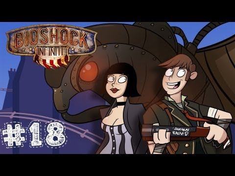 Bioshock Infinite Gameplay / Walkthrough w/ SSoHPKC Part 18 - OpTic SSoH III - With A Vengeance