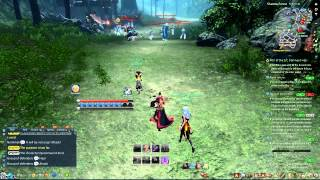Blade and Soul Open PVP lvl 45 Assassin