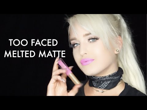 download lagu Too Faced Melted Matte Liquid Lipstick Swatches  Macy Kate gratis