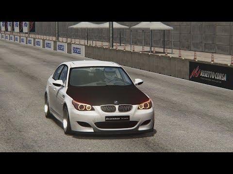 ☆Assetto Corsa - drag BMW M5 E60 VS BMW M4☆