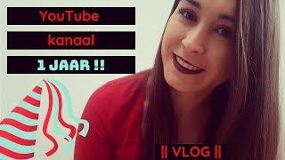HOERAAA, mijn YouTube kanaal bestaat1 jaar!! || VLOG ||