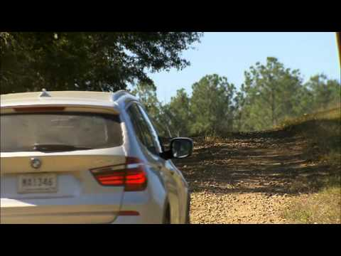 The new 2011 BMW X3 - Driving off road - 35i twin turbo engine