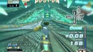 Sonic Riders - Playthrough [Part 9 - Story Mode: Babylon - Ice Factory][ENG]