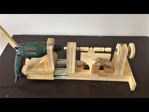 4 in 1 Drill Press Build Pt2: Disc Sander & Lathe  / 4 in 1 Sütun Matkap 2. Bölüm