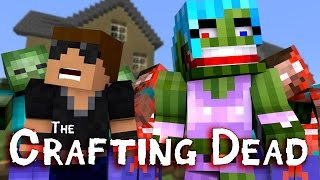 "Clara Run!! ""The Walking Dead"" Ep.1 (Crafting Dead Roleplay)"