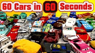 60 Cars in 60 Seconds from Disney Pixar Cars Customs