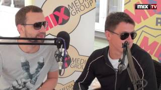 "MIX TV: ""Comedy Club 2013"": В гостях у радио MIX FM Тимур Батрудинов и Руслан Белый"