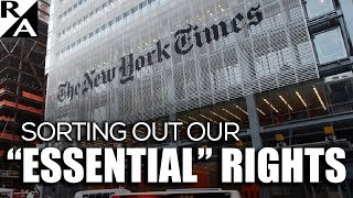 """Sorting Out Our """"Essential"""" Rights"""