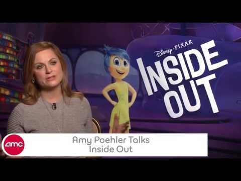Amy Poehler Chats INSIDE OUT - AMC Movie News