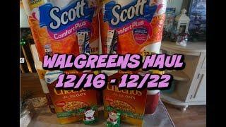 WALGREENS HAUL 12/16 - 12/22 | MONEYMAKER COVERGIRL!