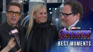 """Avengers: Endgame"" Red Carpet Best Moments"