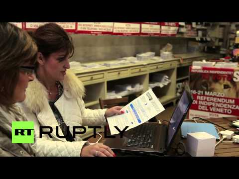 Italy: Veneto votes in referendum on secession from Italy
