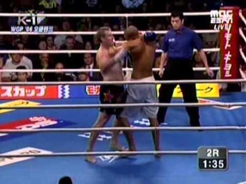 Badr Hari vs Peter Graham 2006