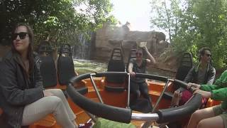 Walibi with friends - Radja River