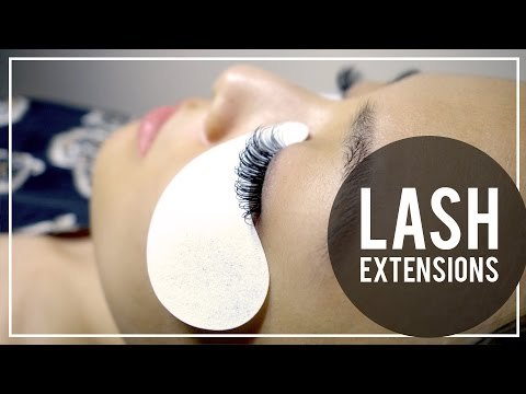LASH EXTENSIONS | My Experience & Tips