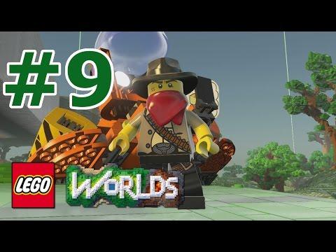 LEGO Worlds: Story Mode Walkthrough: Part 9 - Dusty Egyptian Desert Dunes
