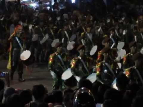 Drumband AKMIL in Magelang Night Carnival 2013