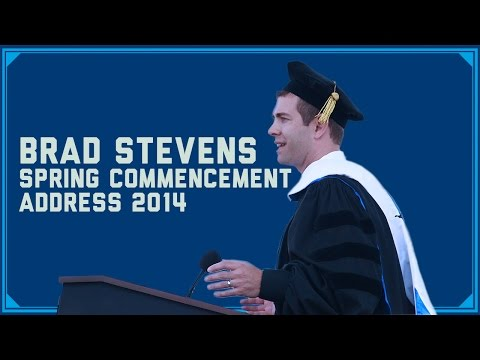 Brad Stevens Spring Commencement Address 2014