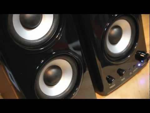 Genius SP-HF1800A 50W RMS Speaker System Unboxing and overview