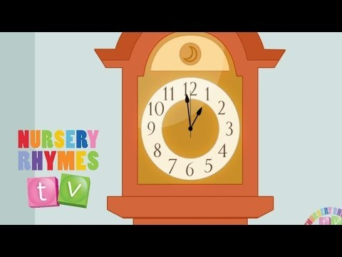 Hickory Dickory Dock. Nursery Rhymes Tv. Toddler Kindergarten Preschool Baby Songs. video