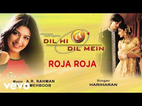 Roja Roja - Official Audio Song | Dil Hi Dil Mein | A.R. Rahman