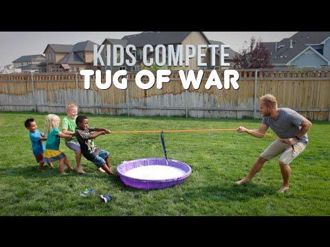 TUG OF WAR CHAMPIONSHIPS   Kids Compete!