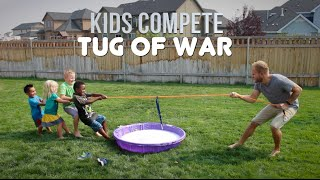 TUG OF WAR CHAMPIONSHIPS | Kids Compete!