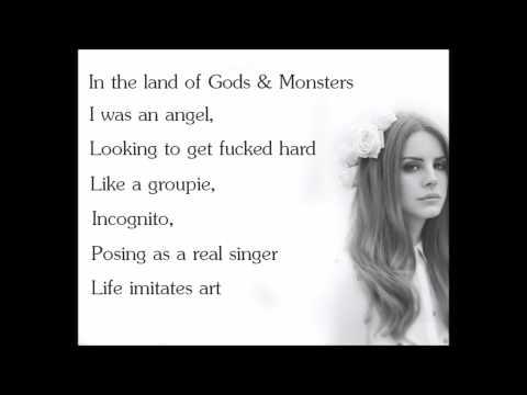 Gods & Monsters - Lana Del Rey (Lyrics) (Explicit)