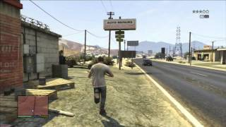 GTA 5: Gas Station Robbery with Trevor