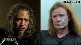 Metallica's Kirk Hammett: I FEEL SORRY For Dave Mustaine!