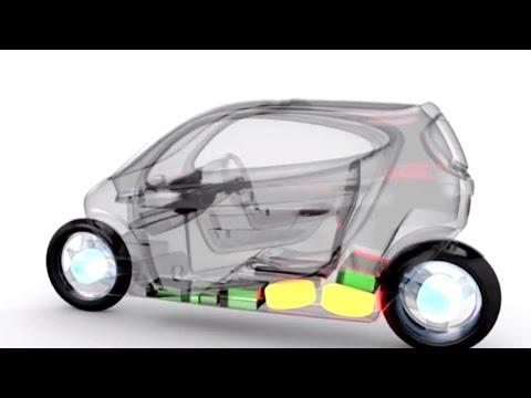 Asombroso: Una Pelota Inteligente Y Una Moto Eléctrica Que Se Maneja Como Un Auto
