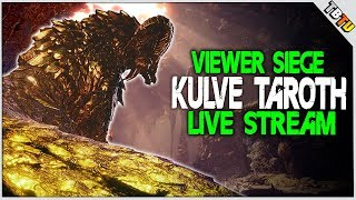 ✔️ KULVE TAROTH IS BACK! VIEWER KULVE SIEGE! Monster Hunter World Event Live Stream [PS4 Pro[