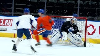 PRACTICE | Thursday at Rogers Place