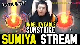 His Sunstrike is Beyond My Understanding | Sumiya Invoker Stream Moment #409