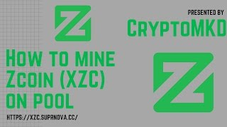 How to mine Zcoin XZC on pool