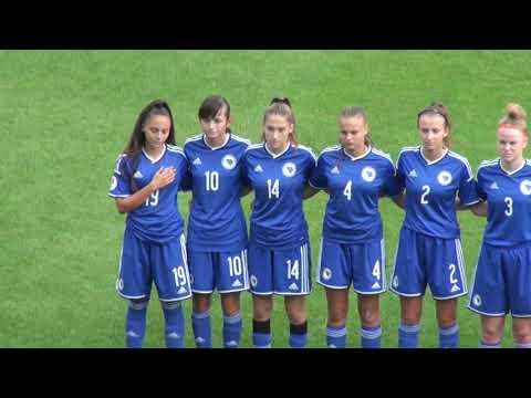 U17 žene - BiH vs Mađarska - prijateljska utakmica 12.09.2019.