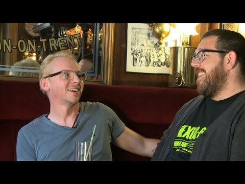 Pegg & Frost - Down The Pub With Nick Grimshaw - Part 1