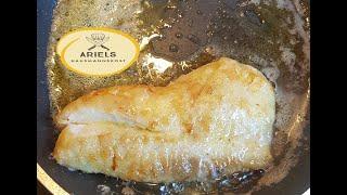 Fisch, Fisch richtig braten so wie ich es mache, Fisch zu braten ist einfach, Fischfilet,