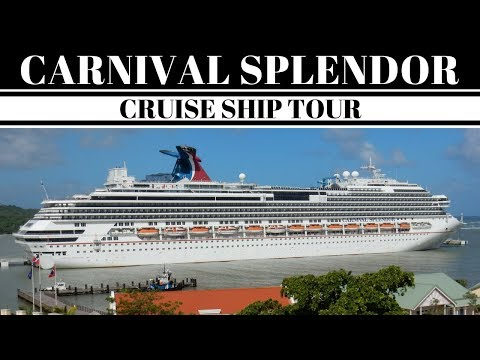 Carnival Splendor Cruise Ship & Balcony Stateroom Tour 12/2016