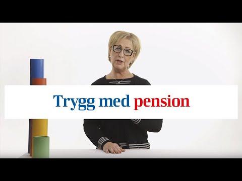 Trygg med tjänstepension  - vi förklarar varför