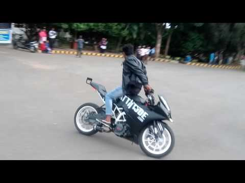 Attitude stunts at ait collage chikmanglore