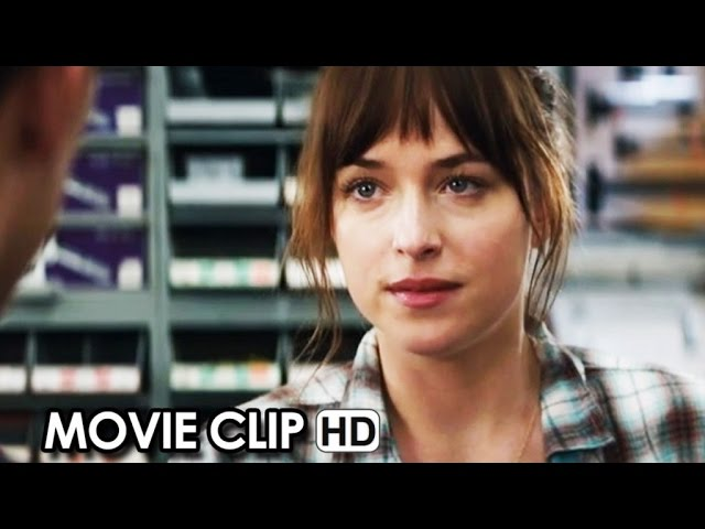 Fifty Shades of Grey Official Clip #1 'Hardware Store' (2015) - Jamie Dornan, Dakota Johnson HD