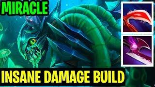 Insane Build Damage - Miracle- Slark - Dota 2