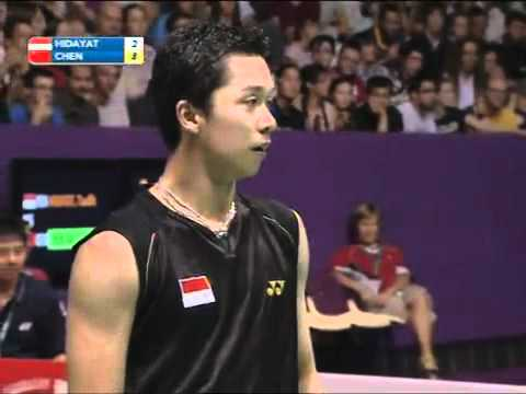 [WC 2010 FINAL] Chen Jin vs Taufik Hidayat 2/12