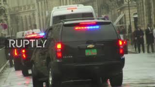 France: Trump heads towards Elysee Palace amid high security