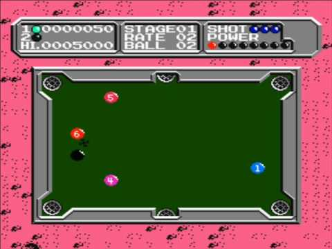 Nes - Lunar Pool (1987)