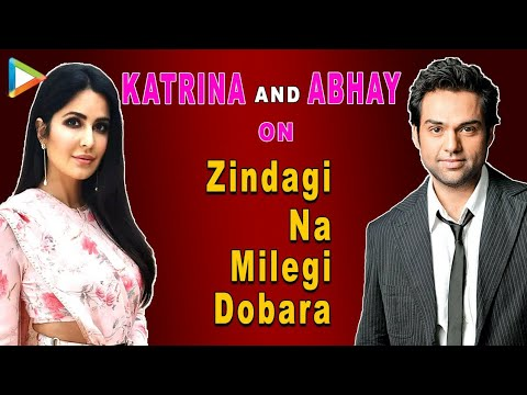 Katrina Kaif & Abhay Deol on Zindagi Na Milegi Dobara - Exclusive Interview Part 1